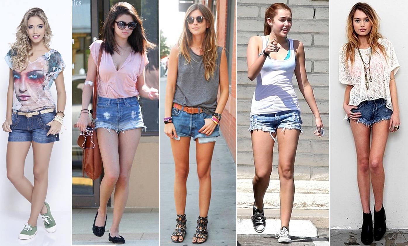 Bermuda Jeans Feminina Estilos