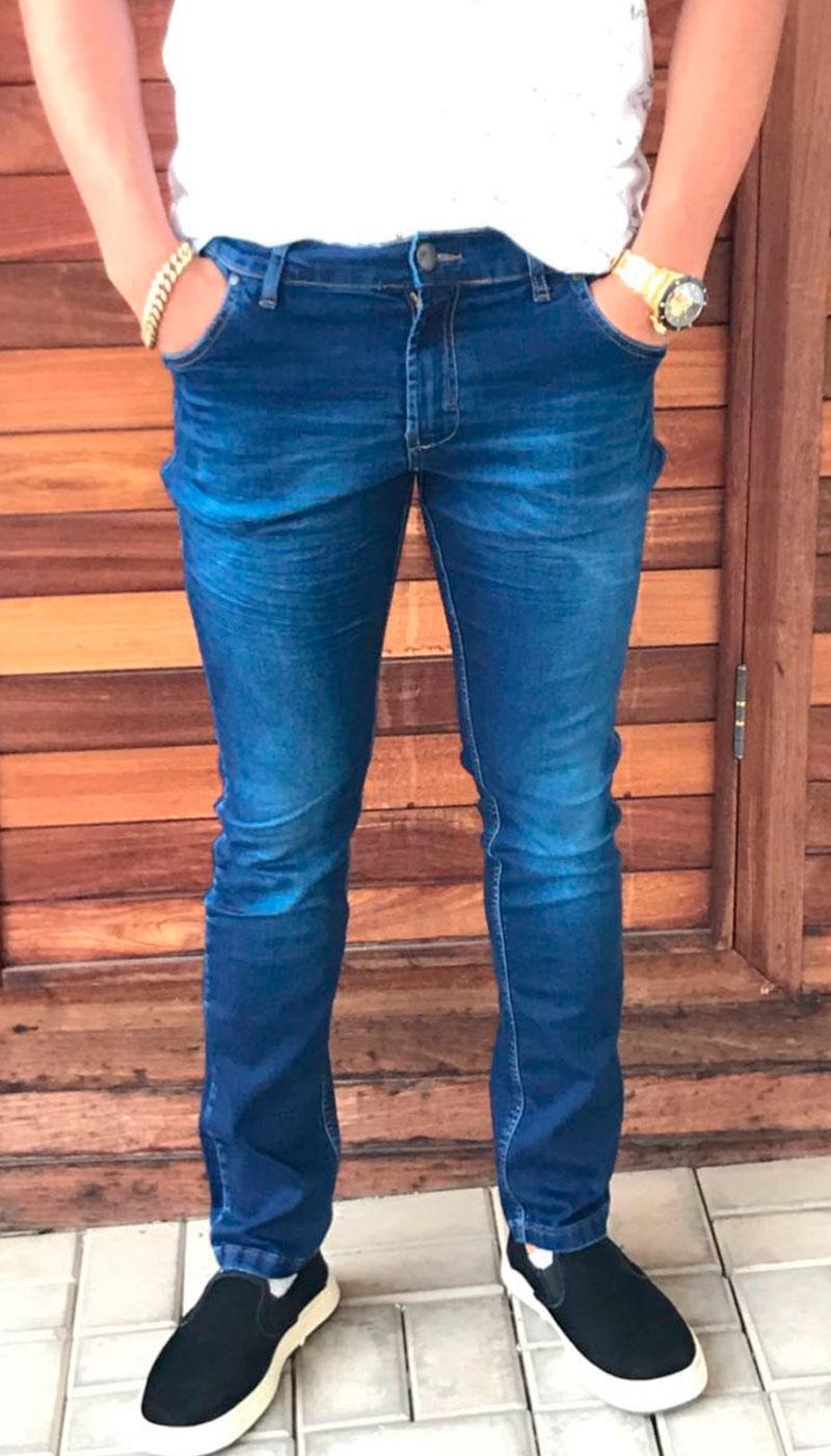 Jeans Masculino Skinny Ogochi